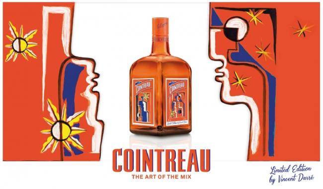 「コアントロー ヴァンサン・ダレ デザインボトル」期間限定出荷